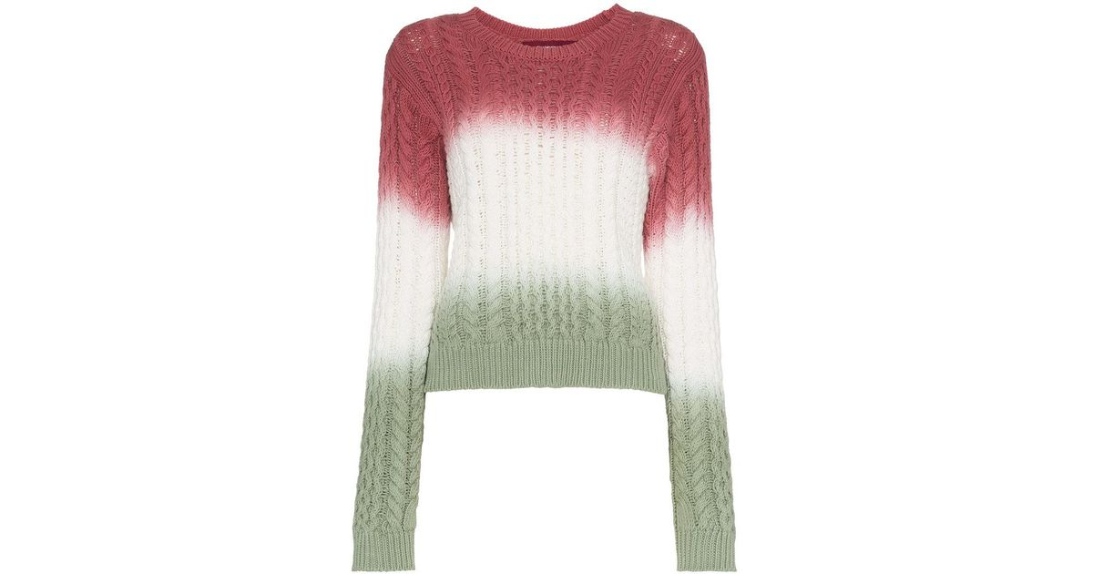 808963d0b5d Sies Marjan Britta Cable Knit Cotton Sweater - Save 62% - Lyst