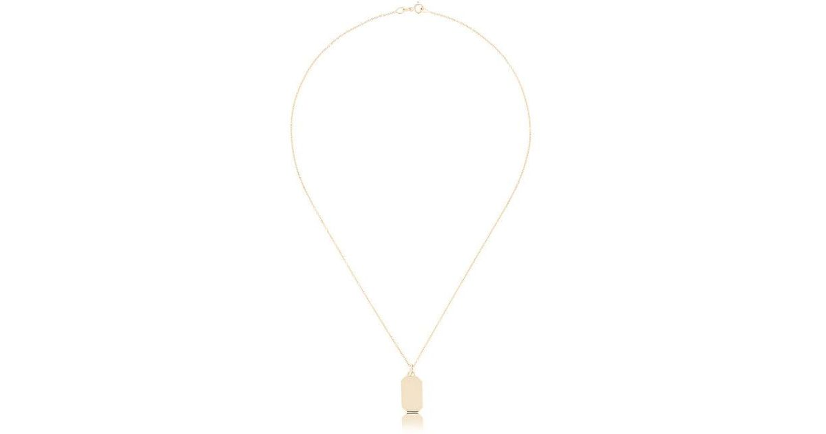 Lizzie Mandler Baguette Open Lariat necklace - Metallic Dm9gKBTJh