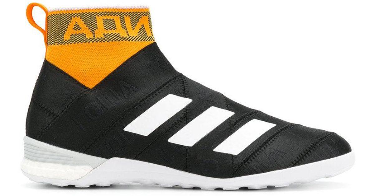 low priced 5027f f55f7 Gosha Rubchinskiy Black X Adidas Side Stripe Sock-sneakers for men