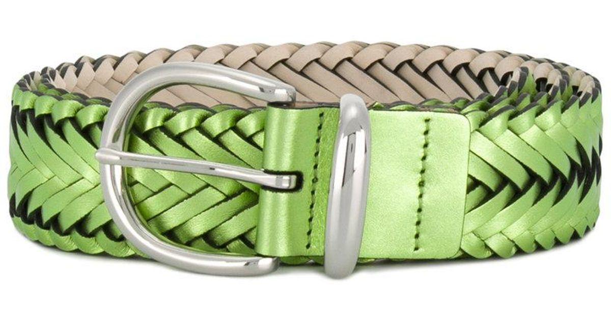 woven belt - Green B-Low The Belt uUQh9oP