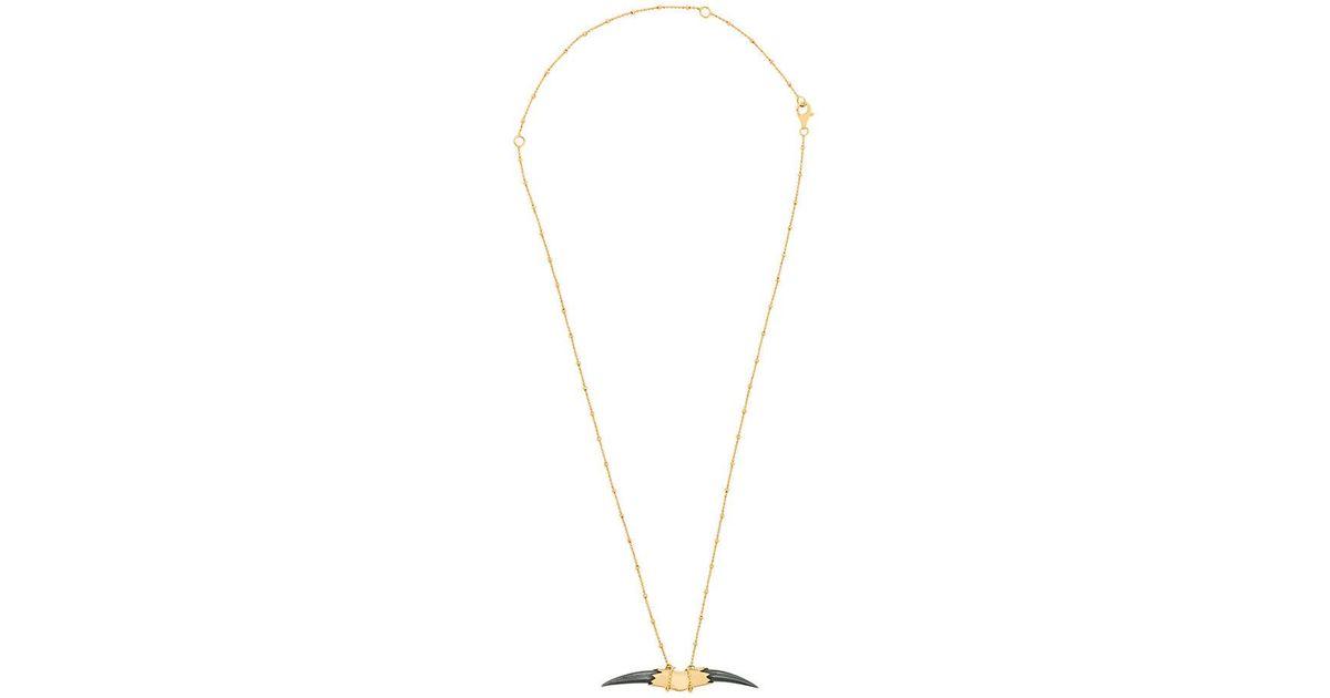 Kasun London Double Claw pendant necklace - Metallic tTIeFDiI5O