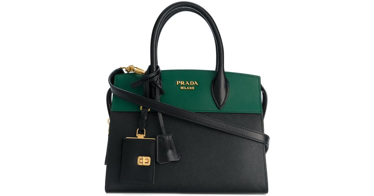 d661d6ff7ef7 Prada Esplanade Tote Bag in Black - Lyst