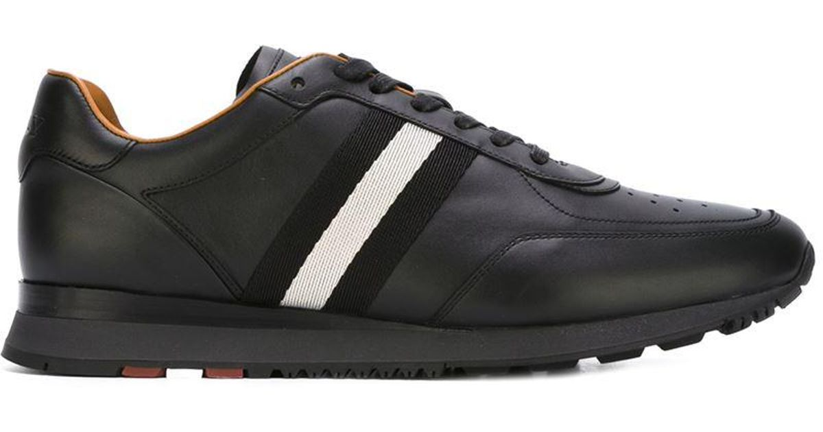 Bally Leather 'aston' Sneakers in Black
