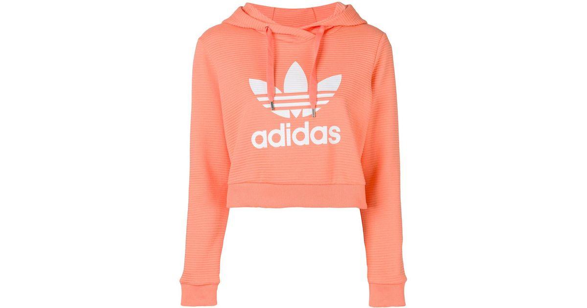 adidas hoodie cropped