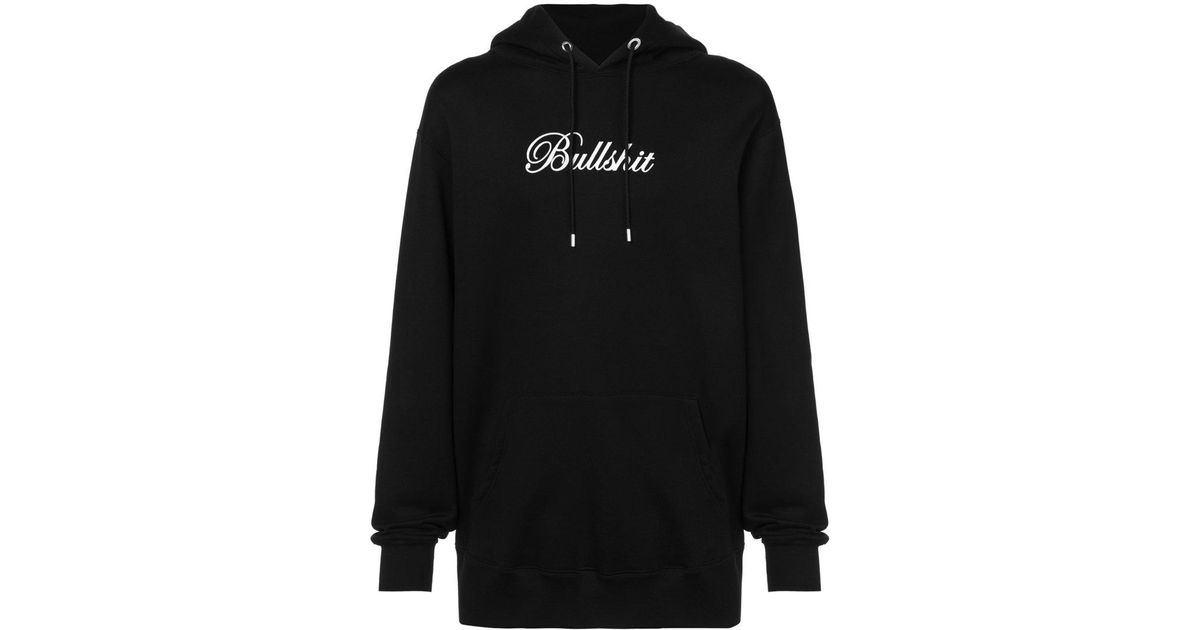 sale uk quality products official photos Mastermind Japan Black Bullshit Hoodie for men