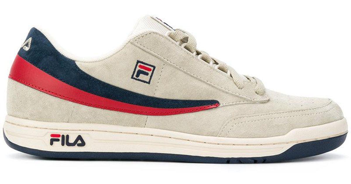 Fila Suede Tennis Low-top Sneakers for