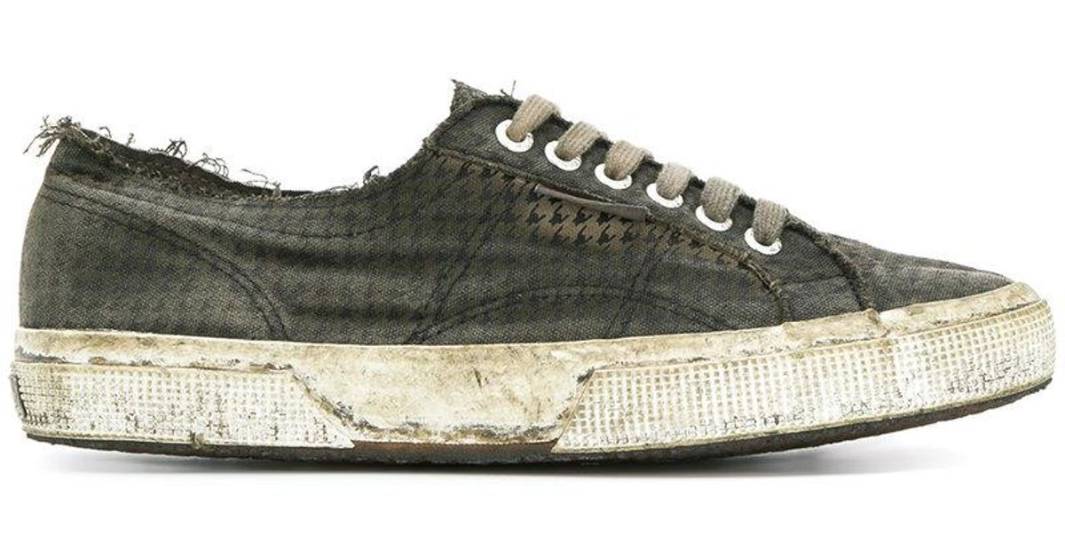 new product 12546 d1da5 massimo-alba-Brown-Superga-X-Worn-Tennis-Sneakers.jpeg