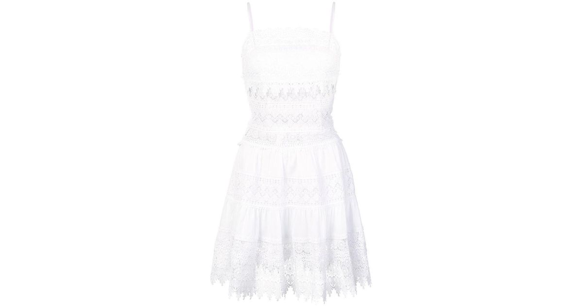 339ae8ba0a8 Charo Ruiz Broderie Anglaise Sundress in White - Save 41.666666666666664% -  Lyst