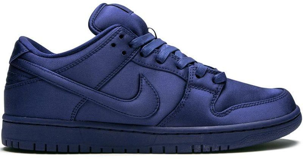 Nike - Blue Dunk Low Trd Nba Sneakers for Men - Lyst