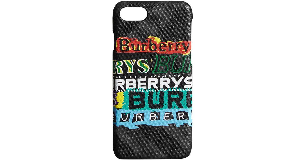 coque iphone 8 burberry