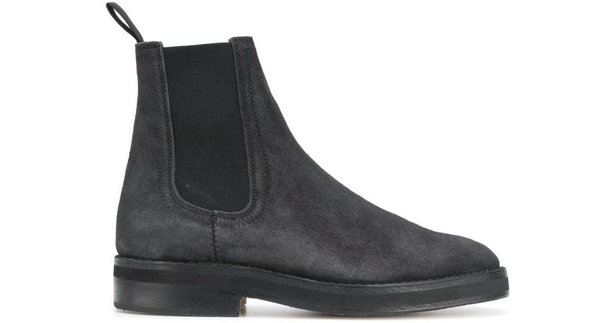 24f04737155 Lyst - Yeezy Chelsea Boots in Black for Men