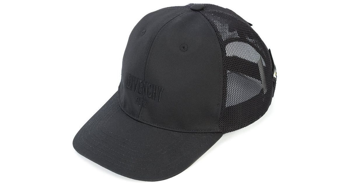 6222d7fed98 Lyst - Givenchy Embroidered Star Trucker Cap in Black for Men