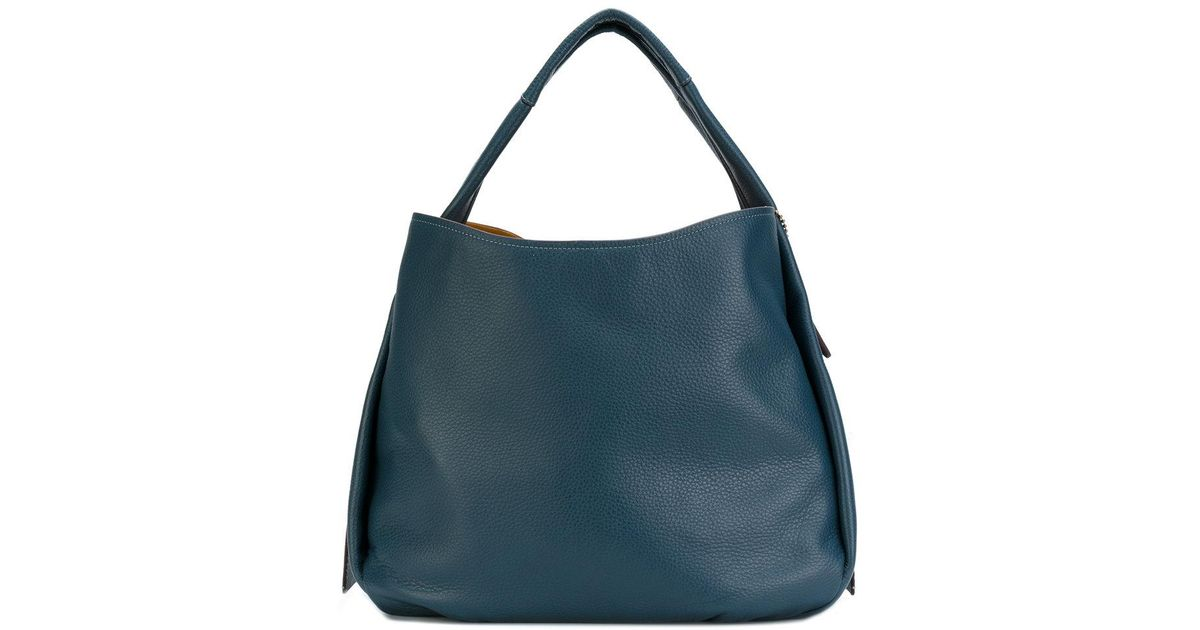 7a7514bbef ... usa lyst coach bandit hobo bag in blue 024d1 47412