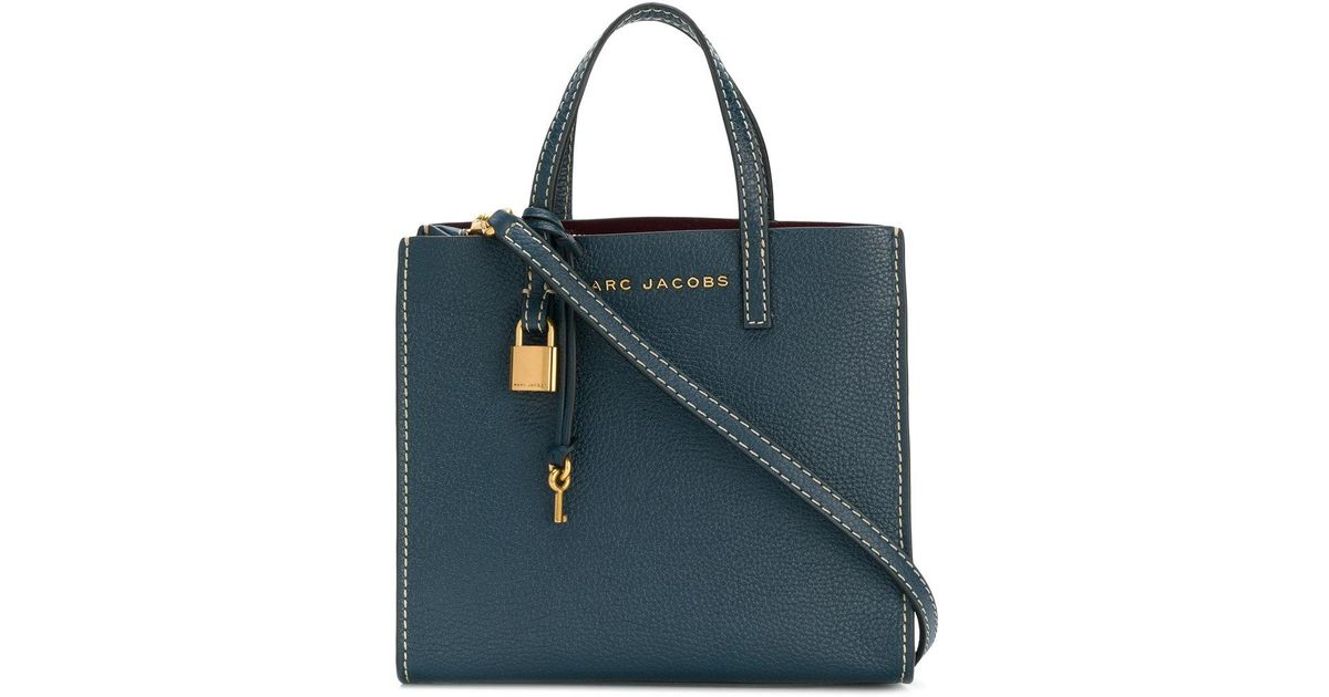 Cheap Sale Buy Clearance Enjoy The Grind crossbody bag - Blue Marc Jacobs Free Shipping 100% Authentic Cheapest ZsvH3vO