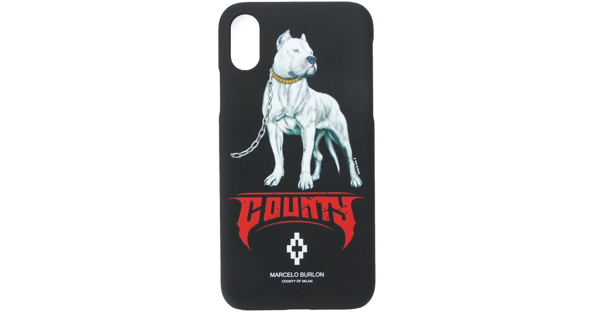 5fee4eb6 Marcelo Burlon Black Dogo Iphone X Case