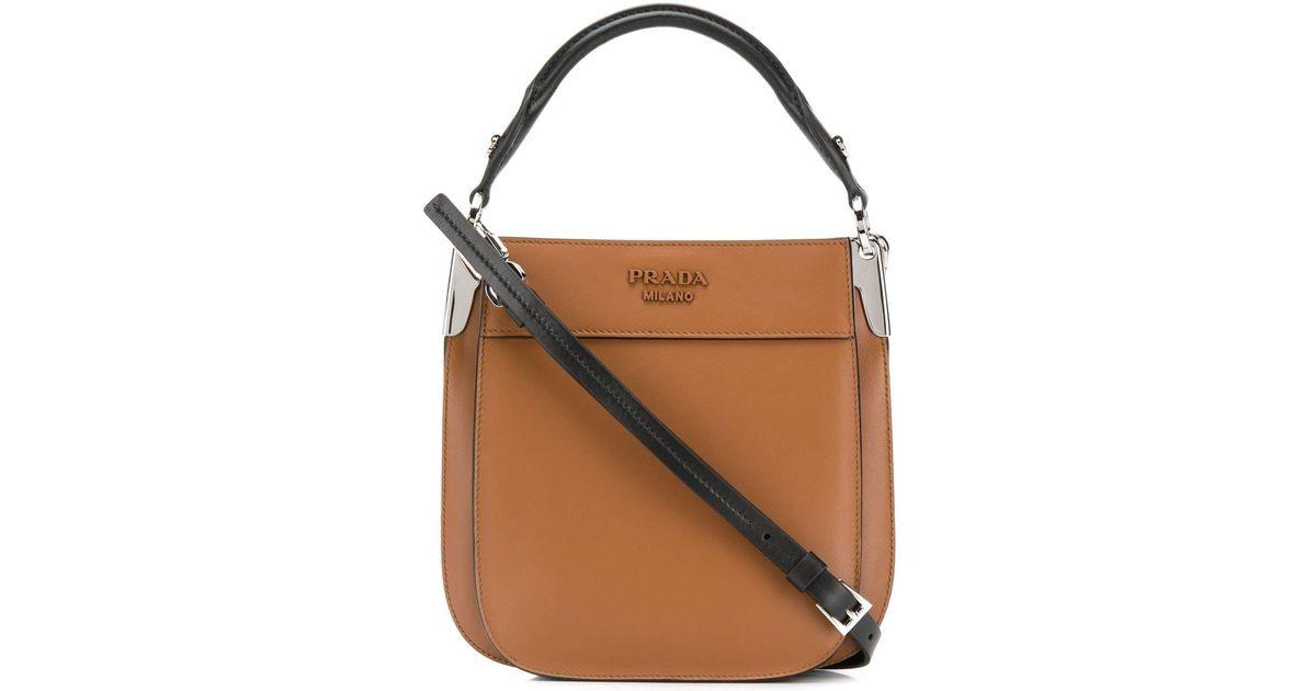 6a5ddbcb Prada Brown Margit Bag