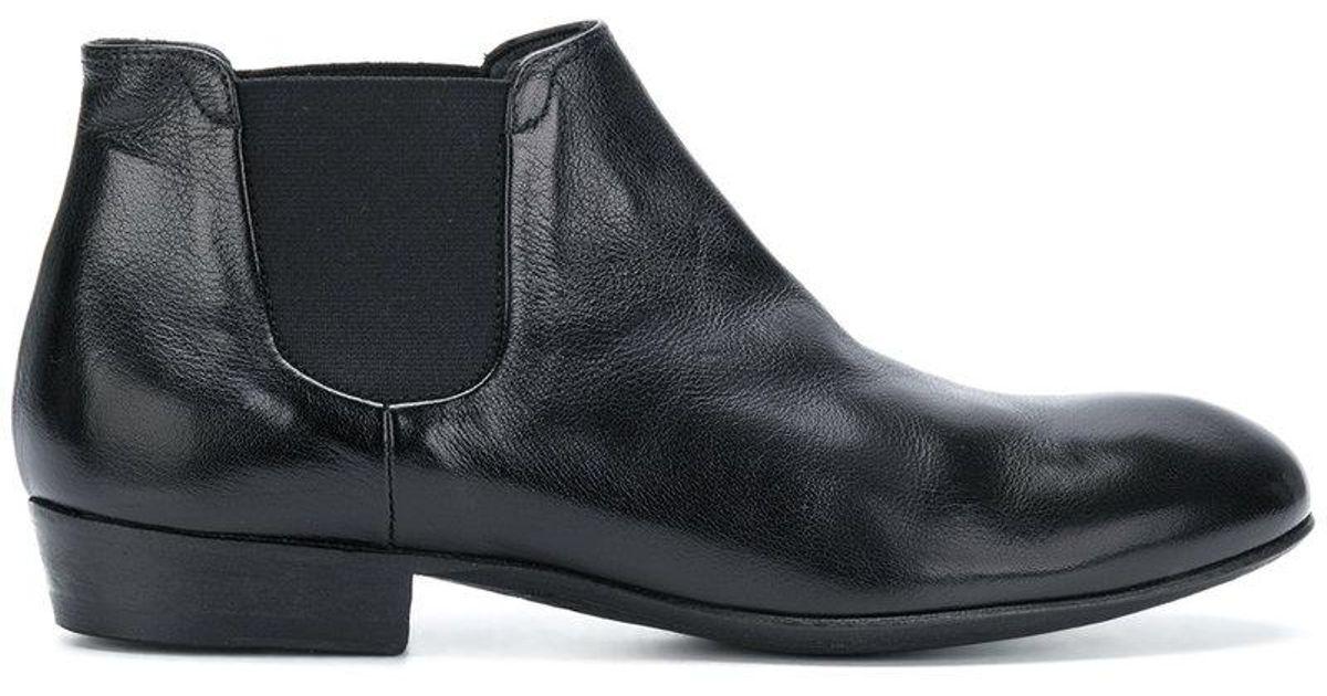 short chelsea boots - Black Pantanetti yQ1vu0