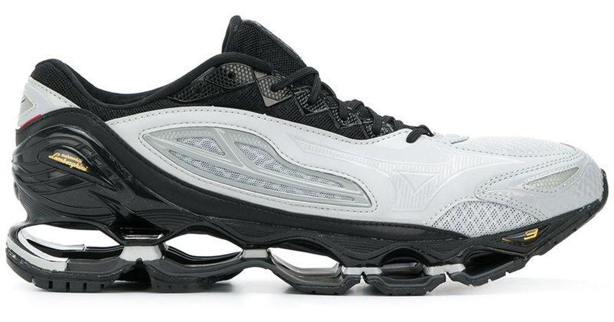 Mizuno Wave Gray 3 Running X Tenjin Shoes For Men Lamborghini xBWQEdCoer