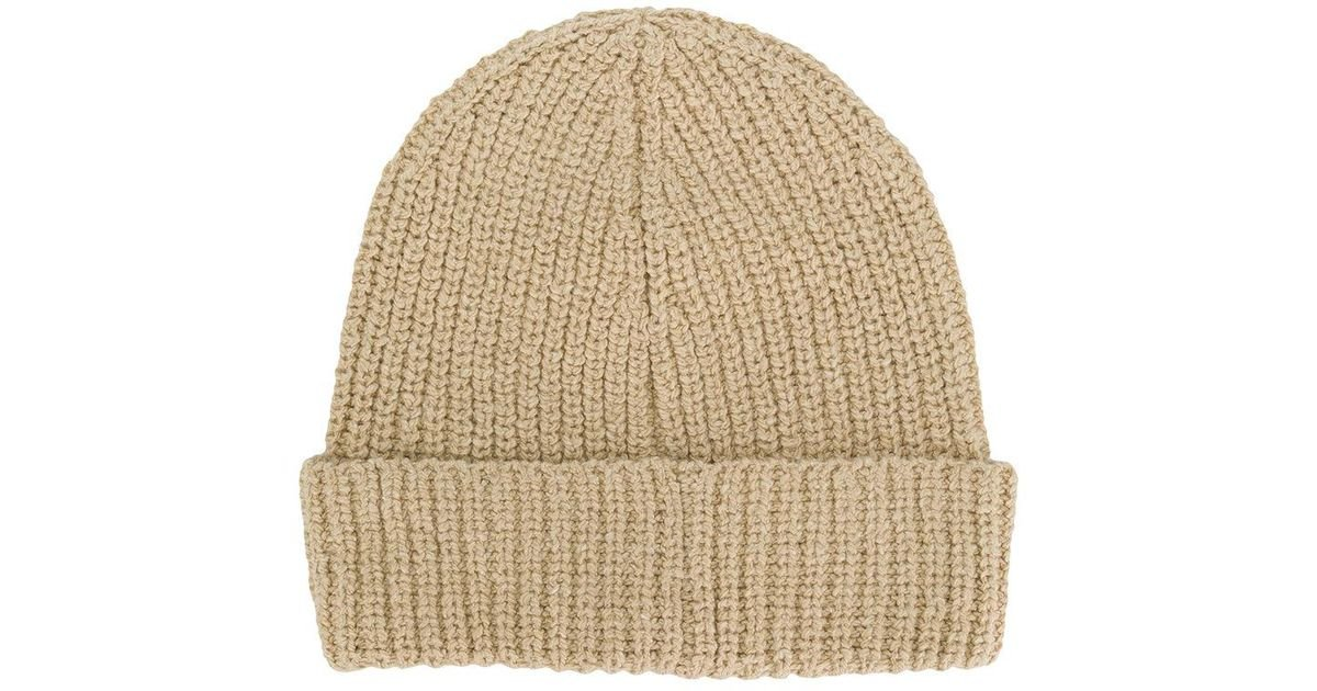 Universal Works Watch Cap Beanie in Natural for Men - Lyst bebe20d47bee