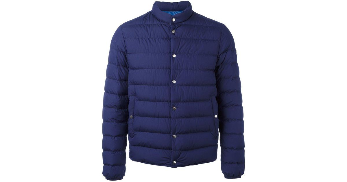 28010172a Moncler Blue Cyclope Padded Jacket for men