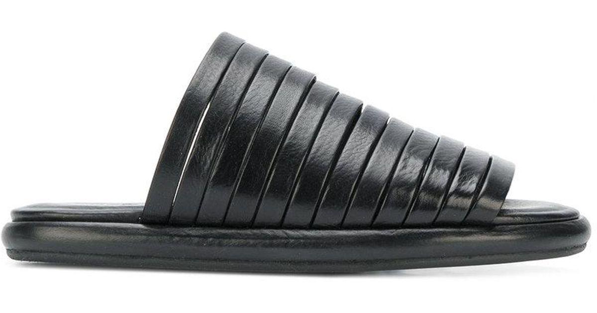 strap front sandals - Black Mars KXgUZzZwD3