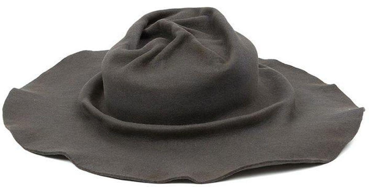 Horisaki Design   Handel Felt Hat in Gray for Men - Lyst 9ada0d63f033