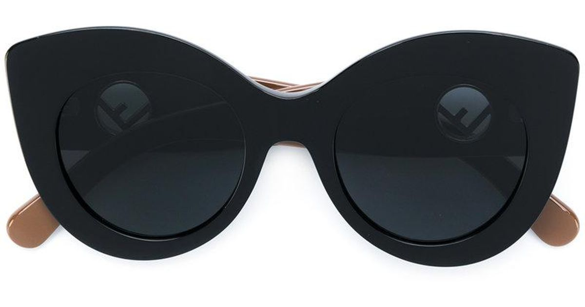 863808455046 Lyst - Fendi F Is Fendi Sunglasses in Black