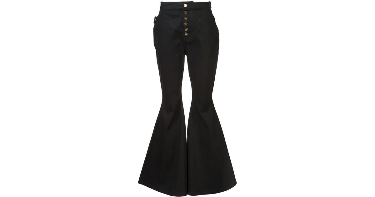Sinuous wool-blend cropped trousers Ellery gH5JHQ