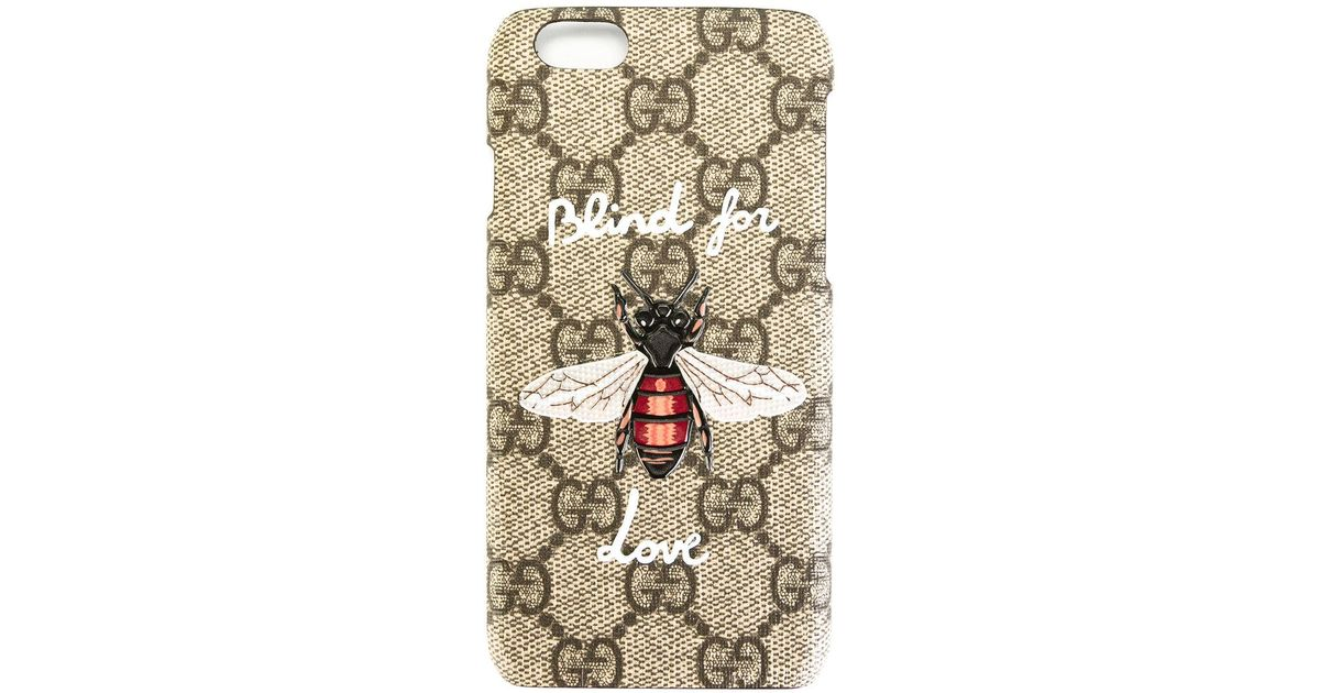 reputable site 6a923 d8003 Gucci Gray Blind For Love Iphone 6/6s Case