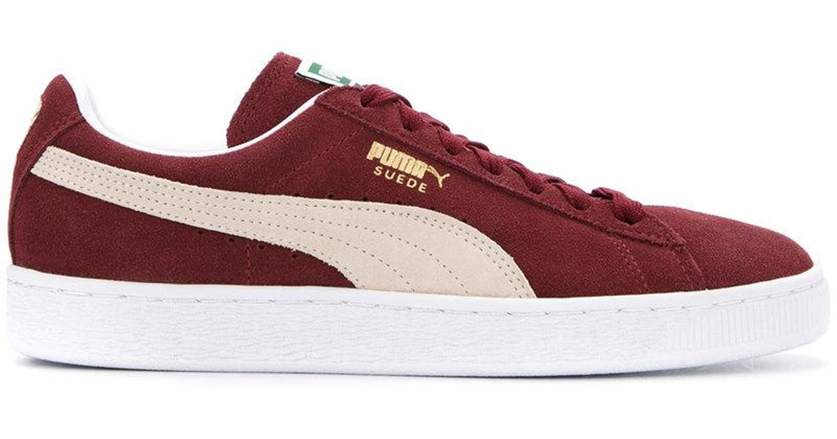 PUMA Leather Vikky Softfoam Sneakers in