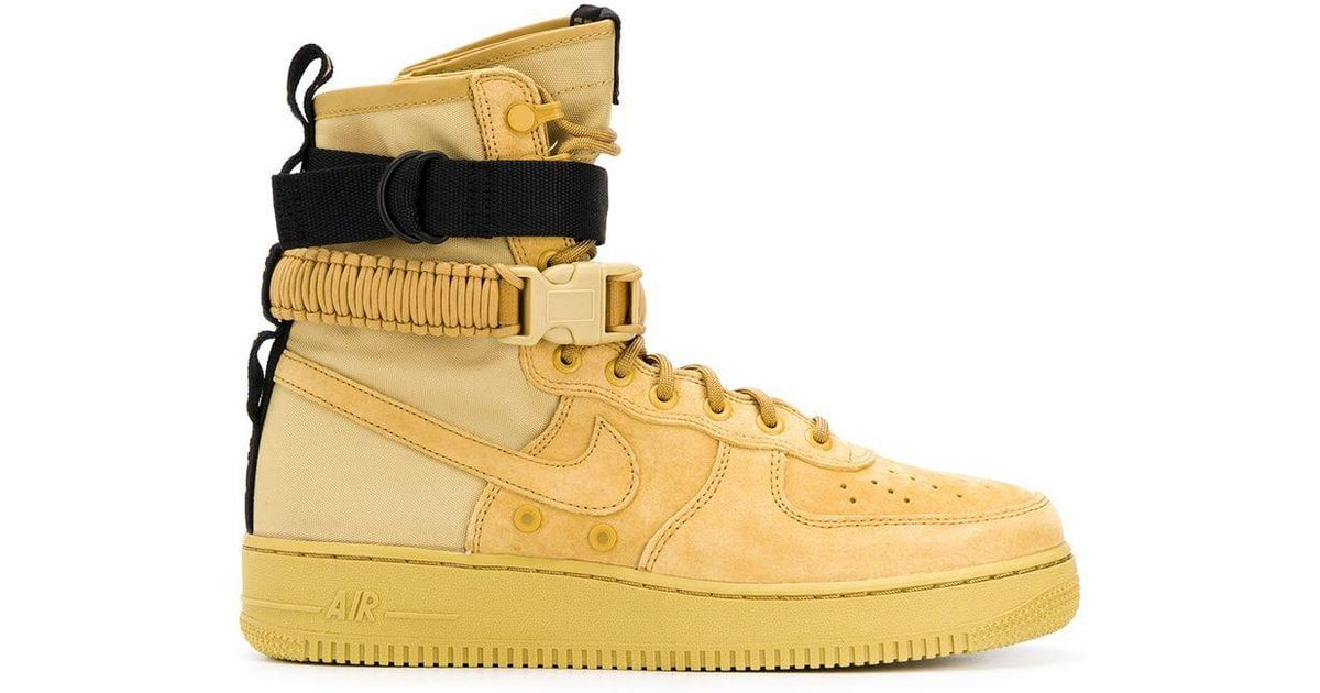 Nike Synthetic Sf Air Force 1 High Top