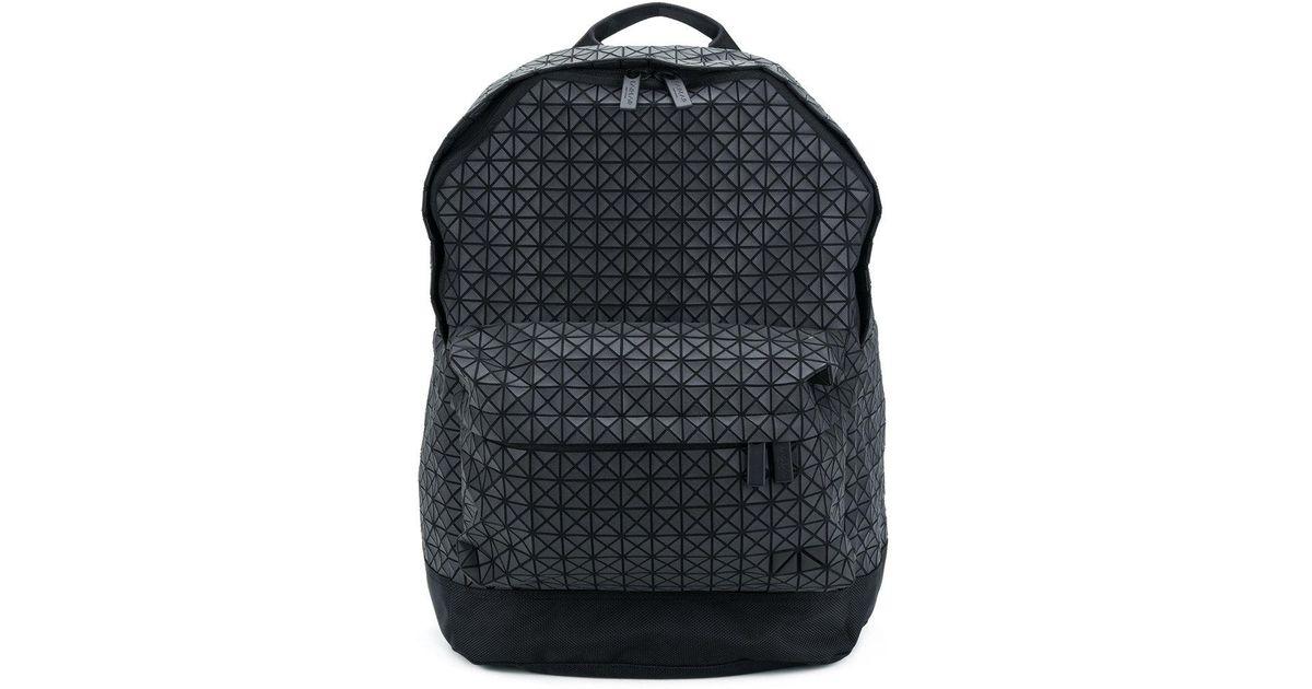 Lyst - Bao Bao Issey Miyake Geometric Pattern Backpack in Black for Men 92f204607ac6b