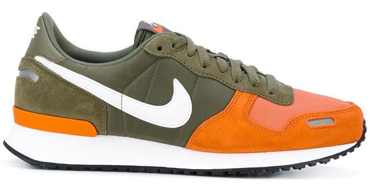 Nike Suede Air Vortex Sneakers in Green