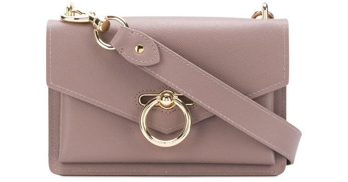 d72724fd20cf Rebecca Minkoff Jean Medium Shoulder Bag in Gray - Lyst
