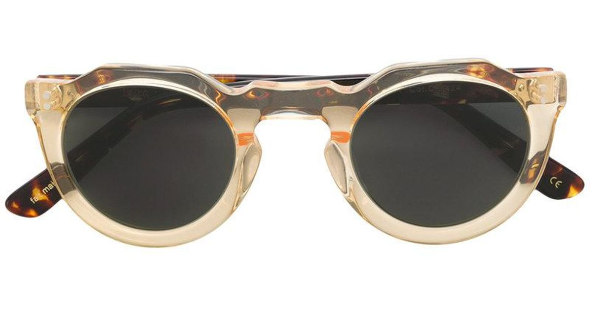 Lesca tinted round sunglasses Footlocker Pictures Cheap Online View Ebay Clearance Sneakernews Buy Cheap Looking For 9NL18a0E