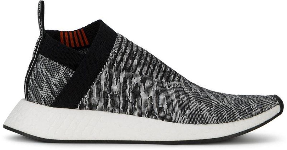 0b5bf9980dfb Lyst - adidas Nmd Cs2 Primeknit Leopard Sneakers in Black for Men
