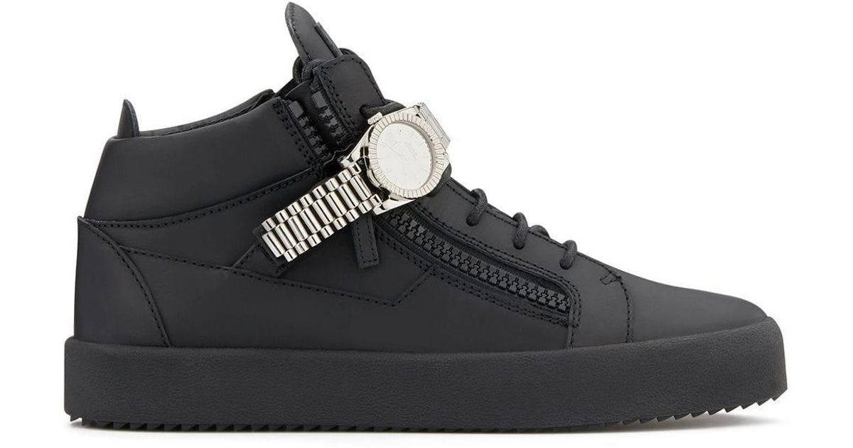 Giuseppe Zanotti Watch Detail Sneakers
