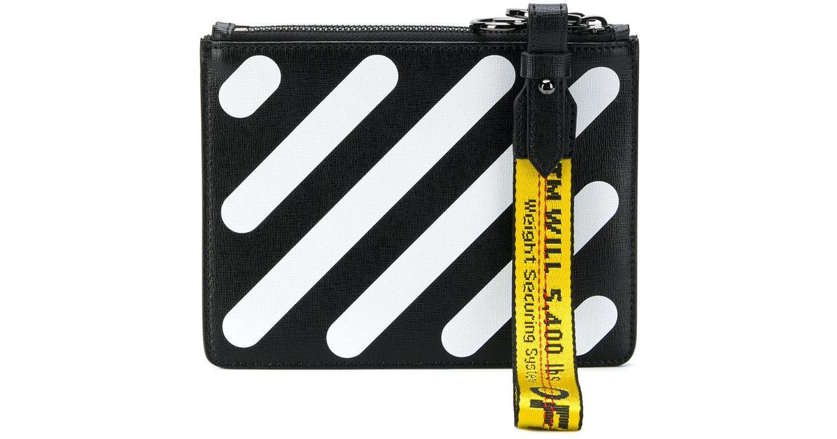 Brand New Unisex Cheap Price Off-White Diag Double clutch Sale Factory Outlet Cheap Sale Shop Offer Outlet Purchase uTNv1