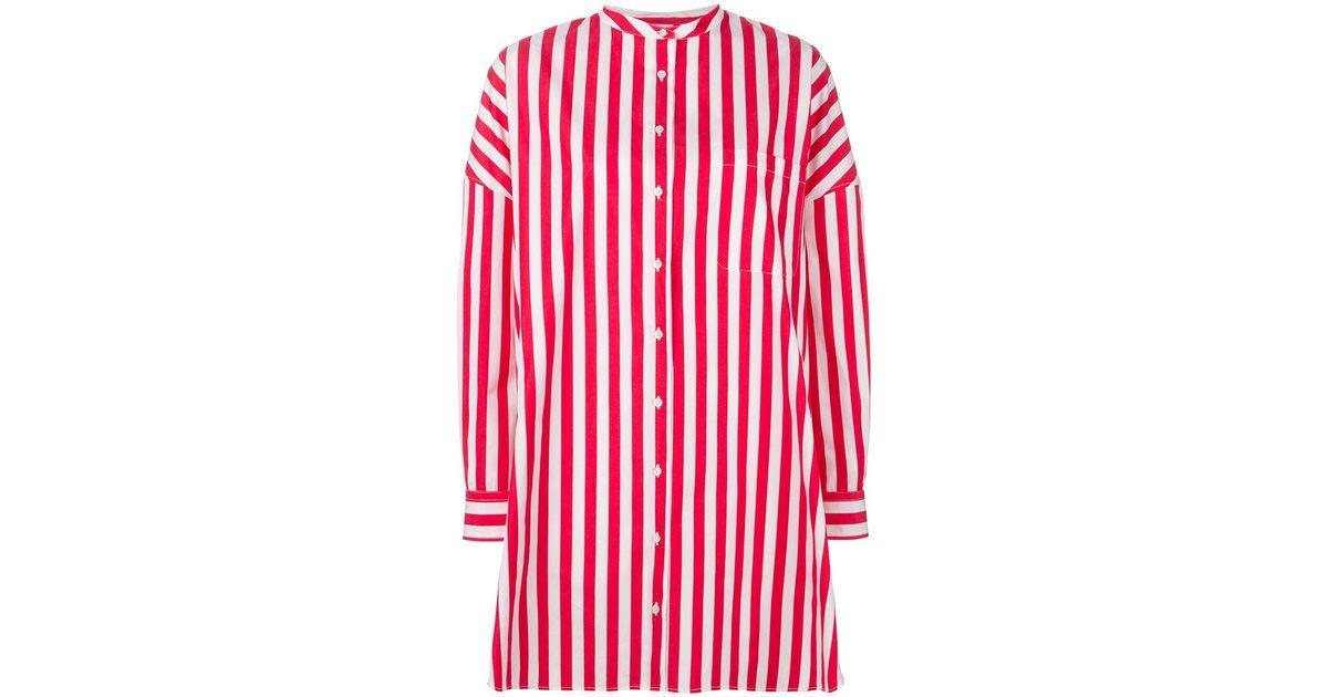 striped dress - Red Aspesi ZRYvSx
