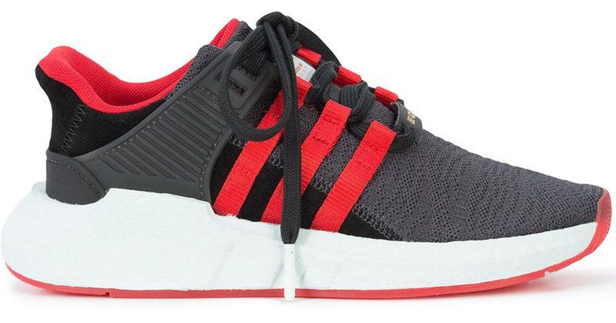 reputable site fd3d8 d3bed Lyst - Zapatillas Eqt Support 9317 Yuanxiao Adidas de hombre de color Negro