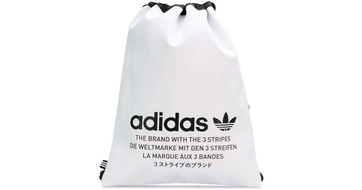 Brodé Lyst Sac Adidas White À Logo Dos XZulkiOPTw