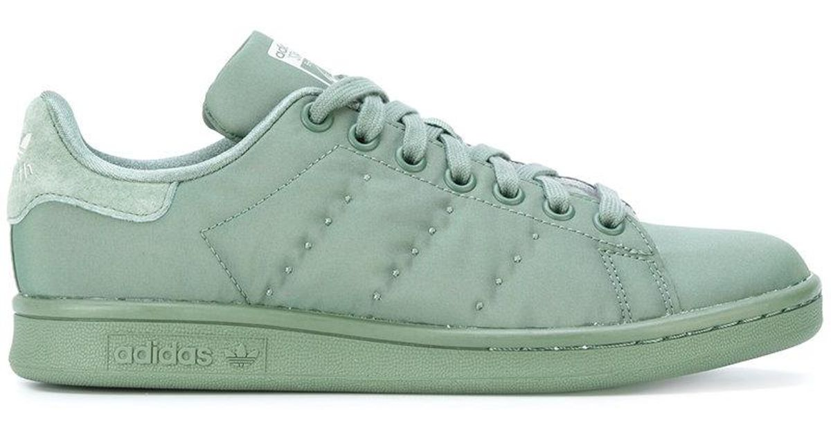 a92d1fa15704 Lyst - Adidas Stan Smith Sneakers in Green