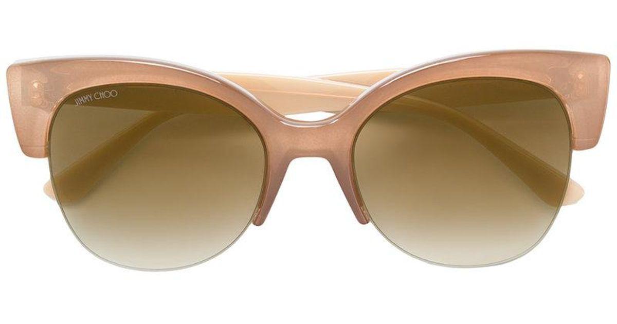 Priya 56 sunglasses - Blue Jimmy Choo Eyewear DuaKg