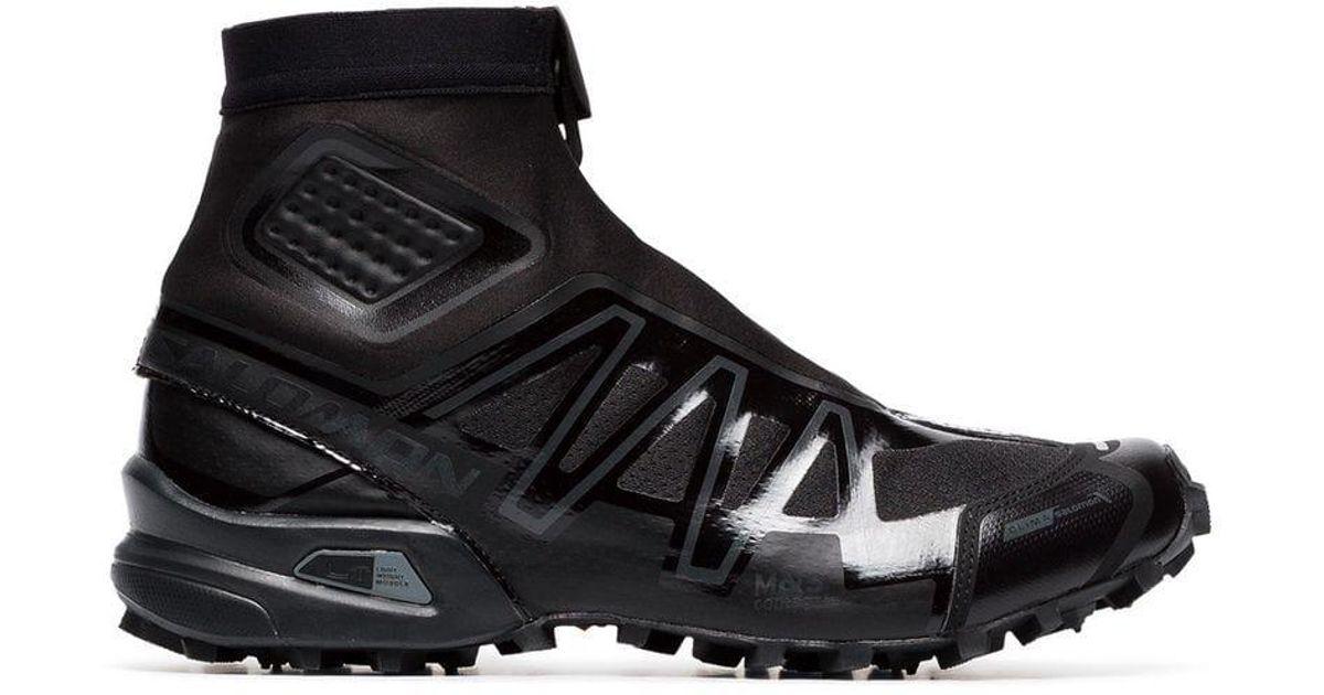 differently 2801d b1d9a Salomon S/Lab Black Snowcross Neoprene Sneakers for men