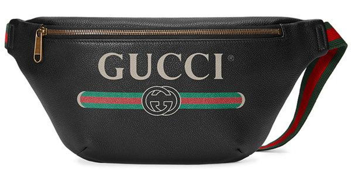 de426739df34 Gucci Belt Bag Print Leather | Stanford Center for Opportunity ...
