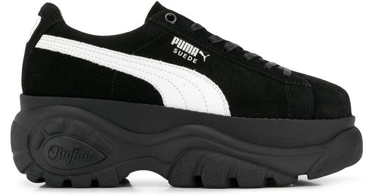7f4fe58f0c46 Lyst - Puma Classic X Buffalo Platform Sneakers in Black