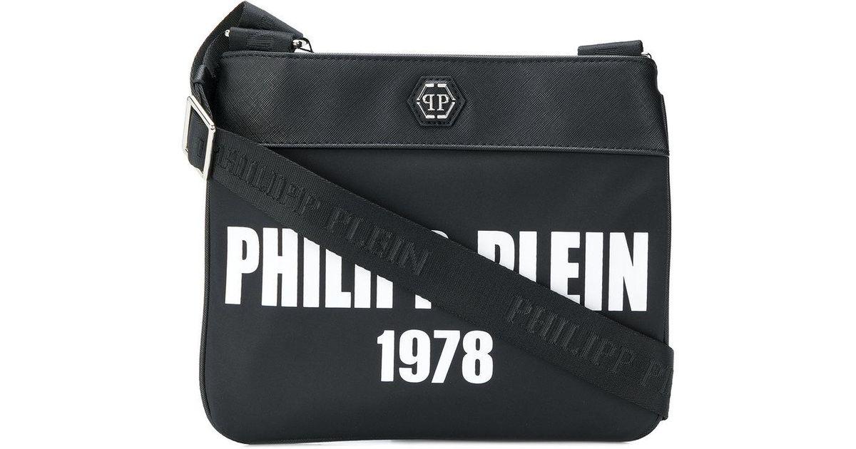 Lyst - Philipp Plein Easy Going Bag in Black for Men 485a2aa5e4c32