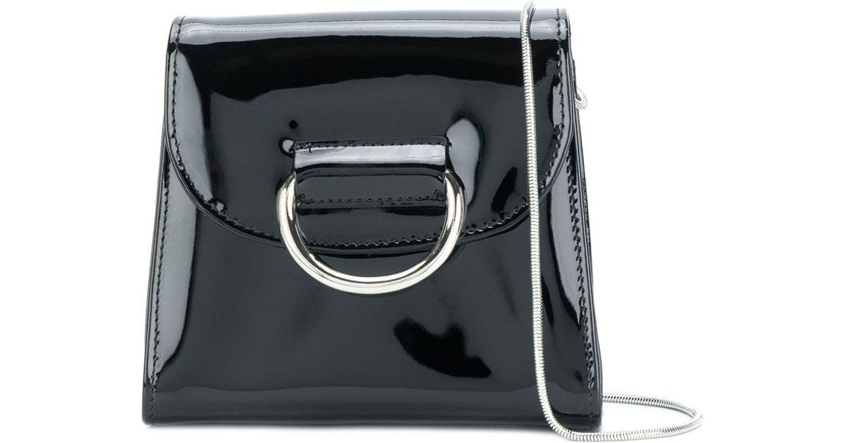 65d945efe Little Liffner Mini Box Crossbody Bag in Black - Lyst