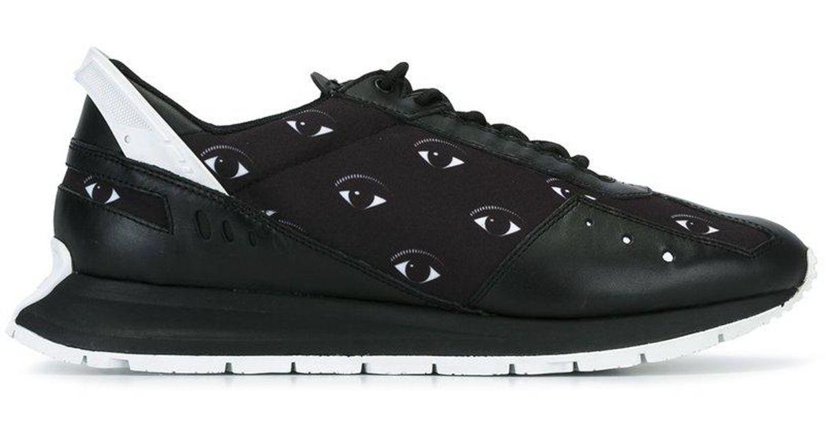 9c4e4527150 Lyst - KENZO  cloud Mix Eyes  Sneakers in Black for Men