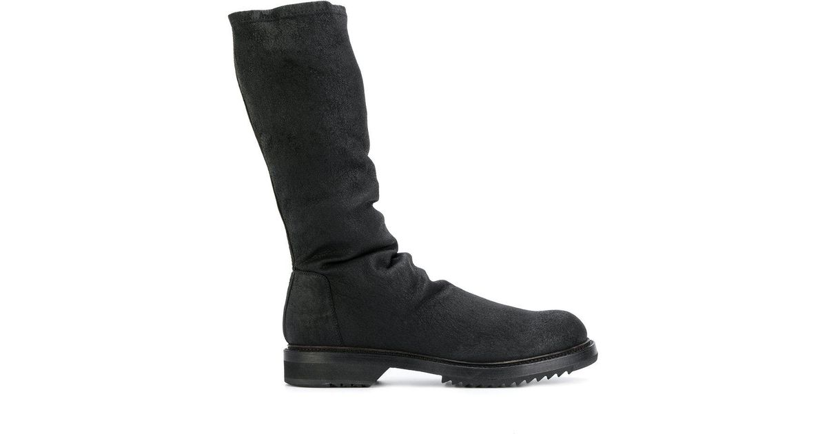 Rick Owens ruched boots with mastercard sale online footlocker for sale cheap price cost Z9FHf